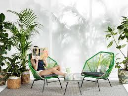 Idee Decoration Jardin Pas Cher attractive petit salon de jardin pour balcon pas cher 3 fauteuil