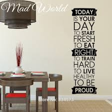 Stickers To Decorate Walls Popular Fitness Wall Art Buy Cheap Fitness Wall Art Lots From