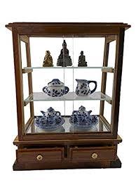 amazon com small vintage teak wood cabinet craft handmade carved
