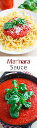 marinara sauce on closet cooking
