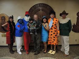 cherokee nation staff dress up for halloween