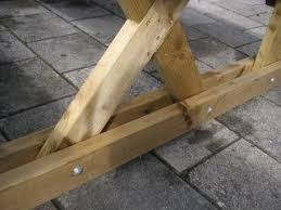 Wooden Picnic Table Plans The 25 Best Wooden Picnic Tables Ideas On Pinterest Outdoor