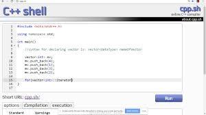tutorial vector c sorting a vector c tutorial youtube