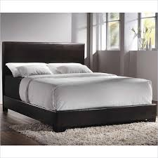 Leather Platform Bed Amazing Vibrant Creative Leather Platform Bed Interesting Ideas