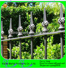china manufacturer of wrought iron cast iron fence ornaments