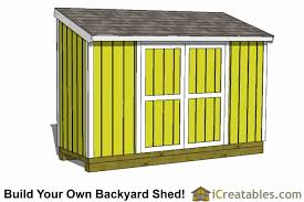 How To Build A Lean To Shed Plans by Lean To Shed Plans Easy To Build Diy Shed Designs