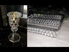 Dollar Tree Vases Centerpieces Diy Dollar Tree Christmas Bling Vase Glam Home Decor Centerpiece