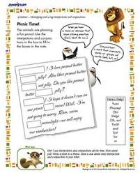 missing in action free worksheet with her favorite critters from