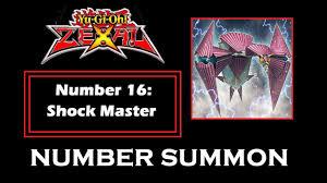 yu gi oh zexal number 16 shock master summon youtube