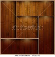 wooden vector shelf white empty bookshelf stock vector 518072974
