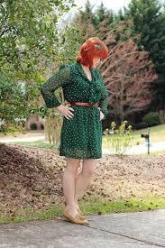 file st patrick u0027s day dark green polka dot dress brown