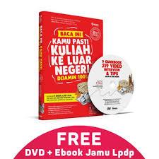 jual jual rahasia lolos beasiswa lpdp ada di sini buku dvd best