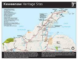 map of calumet michigan keweenaw national historical park official map 25970 jacket