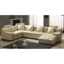 canapé d angle cuir beige canapé d angle panoramique en cuir beige bali achat vente canapé