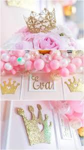princess birthday party pink and gold princess birthday party pretty my party