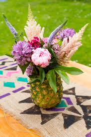 fruit floral arrangements how to make your own pineapple floral arrangement bespoke