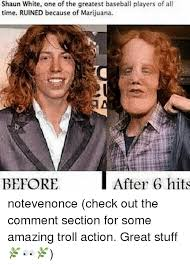 Shaun White Meme - shaun white one of the greatest baseball players of all time ruined