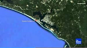 Panama City Beach Florida Map by Shark Feeding Frenzy Off Panama City Beach Florida Youtube