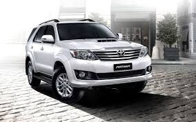 toyota white car toyota fortuner pictures the best selling suv in asia