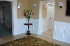 Installing Wainscoting In Bathroom - simple decorative wainscoting designs designs ideas and decors