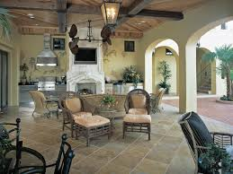 Living Spaces Kitchen Tables by Exterior Pretentious Semi Outdoor Living Spaces In Spanish Style