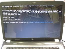 hp laptop fan repair how to fix system fan 90b error on a hp pavilion g6 laptop
