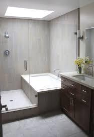 tub with glass door modern bathtub shower combo zamp co