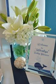 baby shower welcome sign a boy s whale themed baby shower spaceships and laser beams