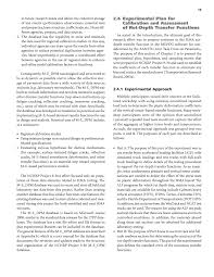 chapter 2 summary of findings calibration of rutting models