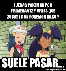 Zubat Meme - meme personalizado juegas pokemon por primera vez y crees que