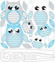 Nursery Owl Decor Owl Wall Decals Owl Stickers Owl Nursery Wall Decor