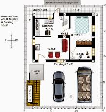 North Facing Floor Plans My Little Indian Villa 50 R43 4bhk Duplex In 30x40 North Facing