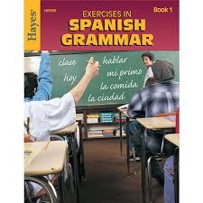 spanish grammar exercises reproducible workbook spanish teaching