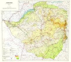 New Mexico Topographic Map by Topographic Map Of Zimbabwe