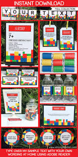 25 unique lego invitations ideas on pinterest lego birthday