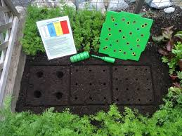 square foot gardening layout so easy with the seed square