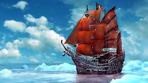 pirate sail wallpapers photo collection cartoon pirate ship wallpaper