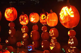 photos jack o u0027 lantern exhibit marks halloween us news