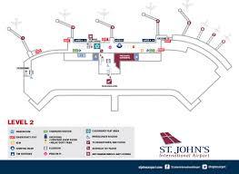 maps st john u0027s international airport