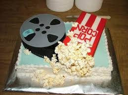 Movie Themed Cake Decorations Movies Film Theme Cakes And Cupcakes For The Movie Buffs Out There