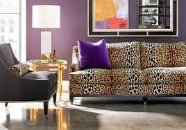 animal print furniture settees chaise benches leopard print