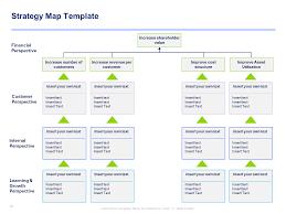 Strategy Map Strategy Map Template U0026 Balanced Scorecard Template By Ex Mckinsey
