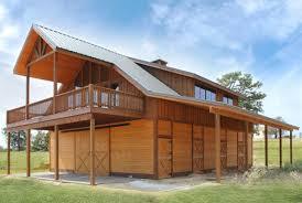 exterior design exciting barndominium floor plans for traditional enchanting barndominium floor plans with wood siding and sliding door plus wood deck railing