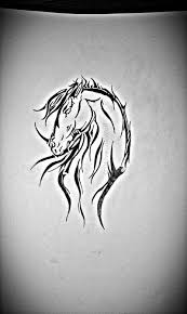 the 25 best tribal horse tattoo ideas on pinterest horse tattoo