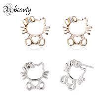 hello earrings aliexpress buy 2017 brand hello earrings