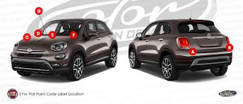 fiat touch up paint find touch up color for fiat color n drive