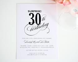 colors 30th birthday invitation wording