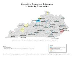 Ky Map Strength Of Policy Map Breathe