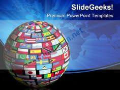 children of the world globe powerpoint templates and powerpoint