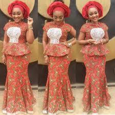 top ten nigerian ankara skirt and blouse styles dabonke